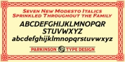 Modesto font download