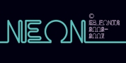 EB Neon font download