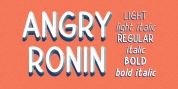 Angry Ronin font download