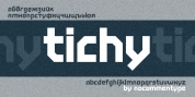 Tichy font download
