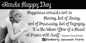 Janda Happy Day font download