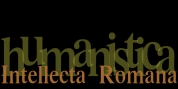 Intellecta Romana Humanistica font download