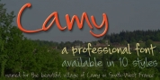 Camy font download