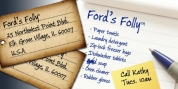 Ford's Folly font download