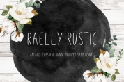Raelly Rustic font download