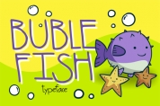 Buble Fish font download