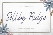 Sellby Ridge font download