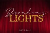 Broadway Lights Duo font download