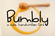 Bumbly font download