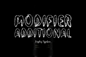Modifier Additional font download