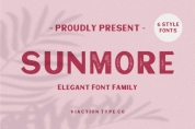 Sunmore font download
