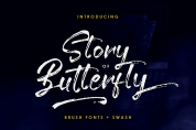 Story of Butterfly font download