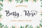 Betty Rose font download