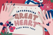 Great Heart font download