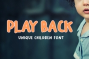 Play Back font download