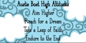 Austie Bost High Altitudes font download