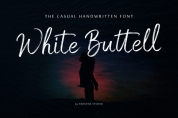 White Buttell font download
