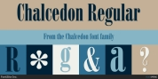 Chalcedon font download