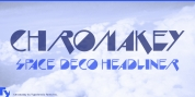 Chromakey font download