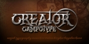 CrEAtOR CamPotype font download