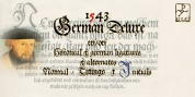 1543 German Deluxe font download