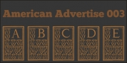 American Advertise font download