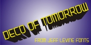 Deco of Tomorrow JNL font download