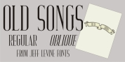 Old Songs JNL font download
