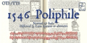 1546 Poliphile font download