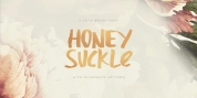 Honeysuckle font download