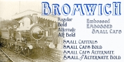Bromwich font download