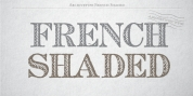 Archive French Shaded font download