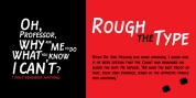 Rough the Type font download
