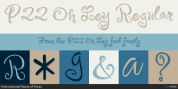 P22 Oh Ley font download
