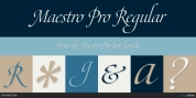 Maestro Pro font download
