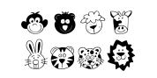 Just Animals font download