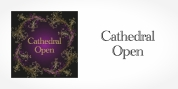 Cathedral Open font download