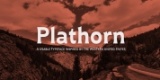 Plathorn Condensed font download