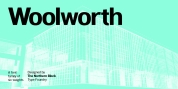 Woolworth font download