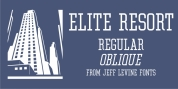 Elite Resort JNL font download