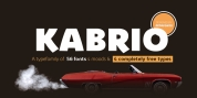 Kabrio font download