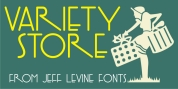 Variety Store JNL font download