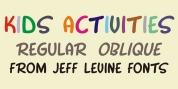 Kids Activities JNL font download
