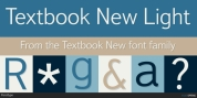 Textbook New font download