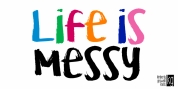 KG Life Is Messy font download