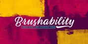 Brushability font download