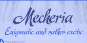 Mecheria font download