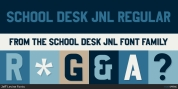 School Desk JNL font download