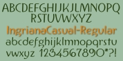 IngrianaCasual font download