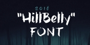 hillBelly font download